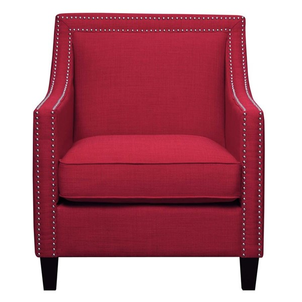Picket House Emery Berry Fabric Nailhead Chair PKT-UER084100CA