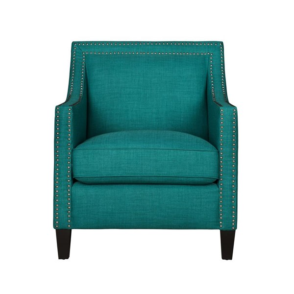 Picket House Emery Teal Fabric Nailhead Chair PKT-UER087100CA