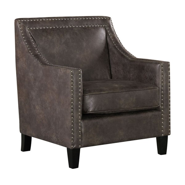 Picket House Elly Charcoal PU Sierra Chair PKT-UER3000100E