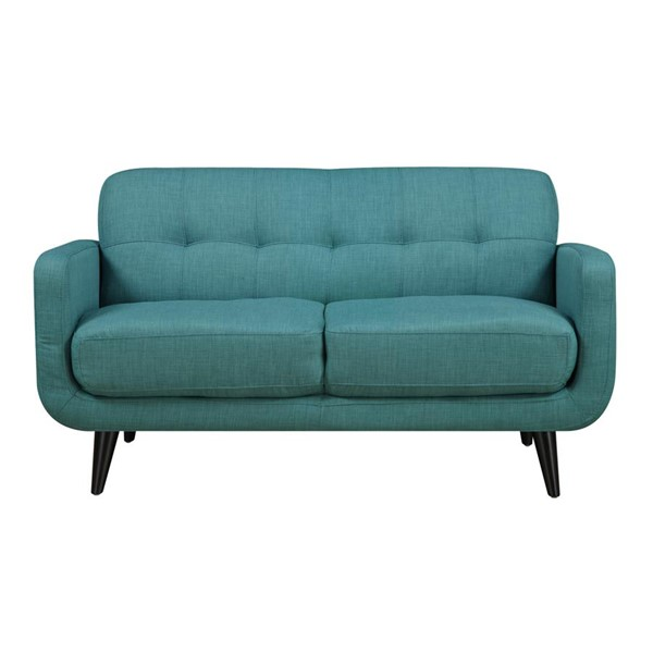 Picket House Hailey Teal Fabric Loveseat PKT-UHD087200NP