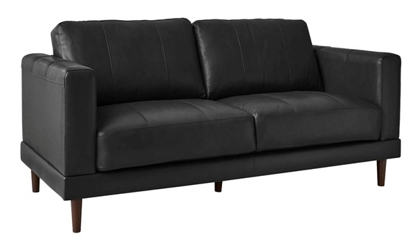 Picket House Hanson Charcoal Leather Loveseat PKT-UHT3782200