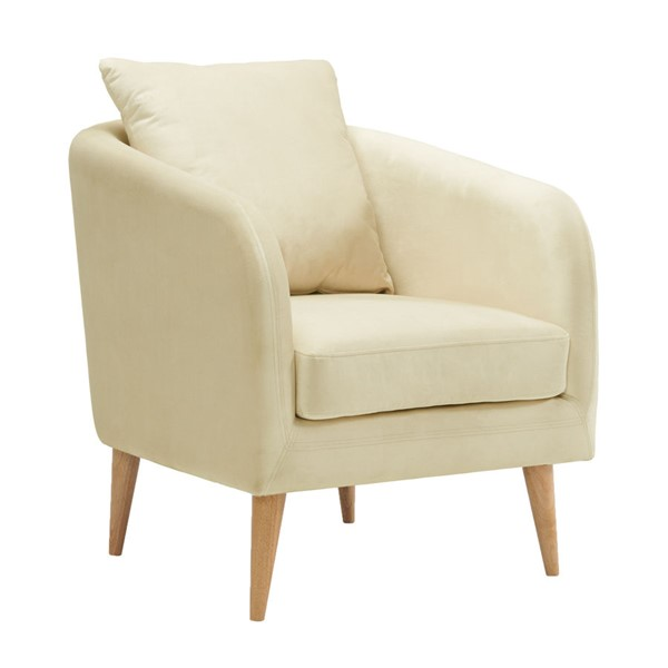 Picket House Zoe Cream Fabric Accent Chair PKT-UJS290101WLE