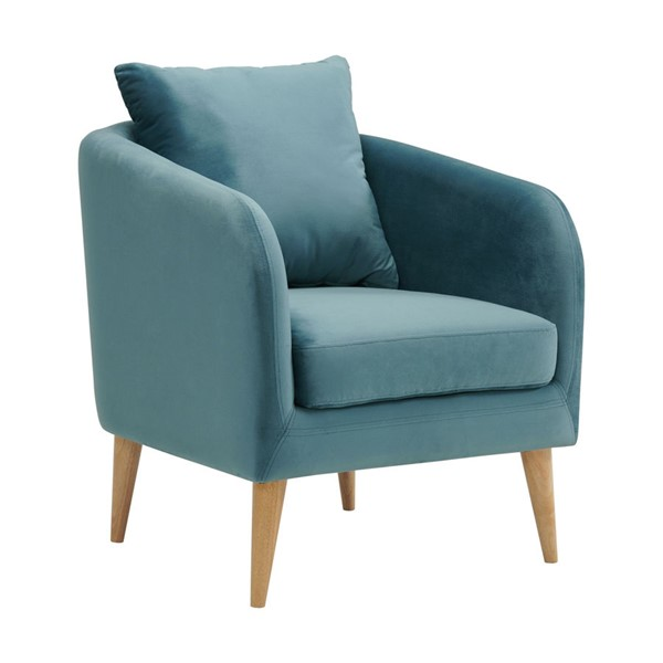 Picket House Zoe Marine Blue Fabric Accent Chair PKT-UJS291101WLE
