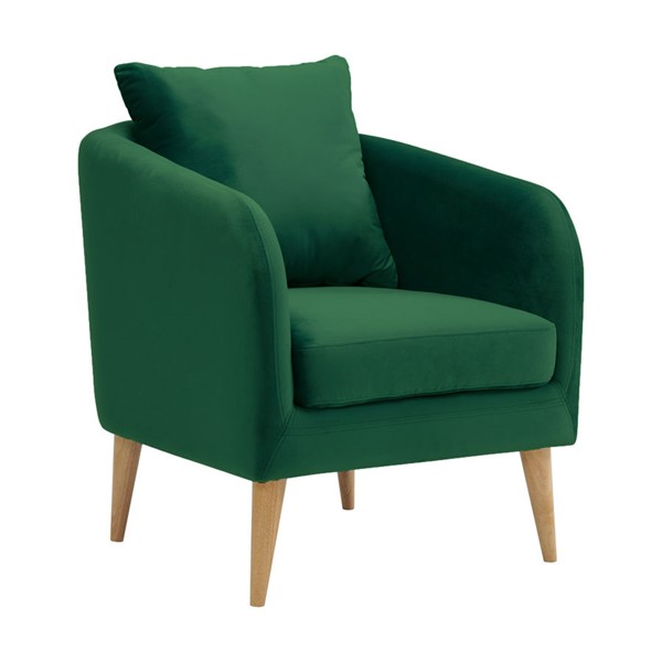 Picket House Zoe Emerald Fabric Accent Chair PKT-UJS294101WLE