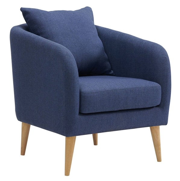 Picket House Zoe Blue Fabric Accent Chair PKT-UJS670101WLE