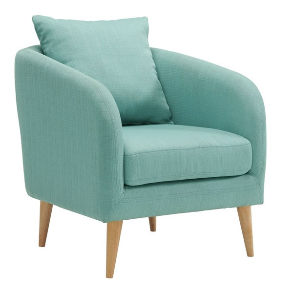 Picket House Zoe Green Fabric Accent Chair PKT-UJS679101WLE