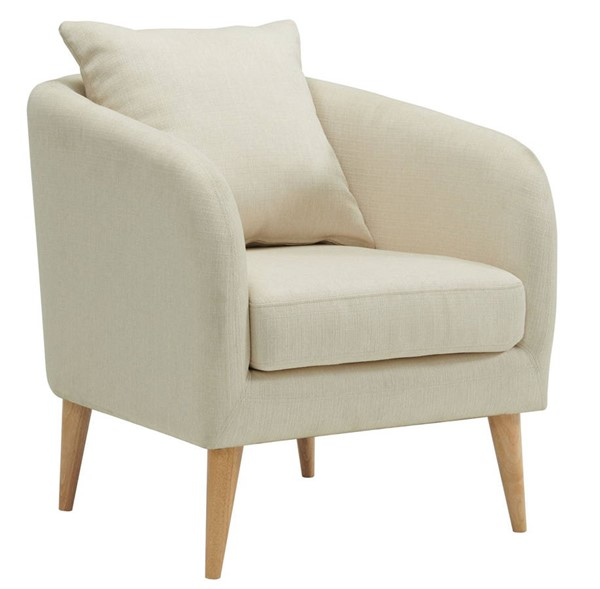 Picket House Zoe Natural Fabric Accent Chair PKT-UJS680101WLE