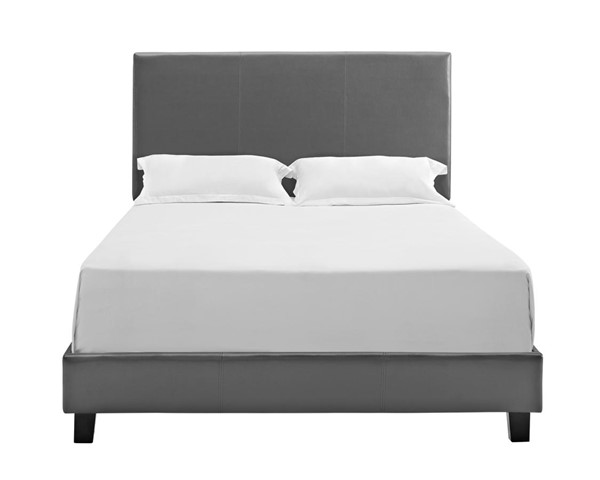 Picket House Jana Magnetite Pu Queen Platform Bed PKT-UJY133QBPCA