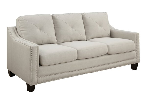 Picket House Mauldin Taupe Fabric Sofas PKT-UMO08-301-SF-VAR