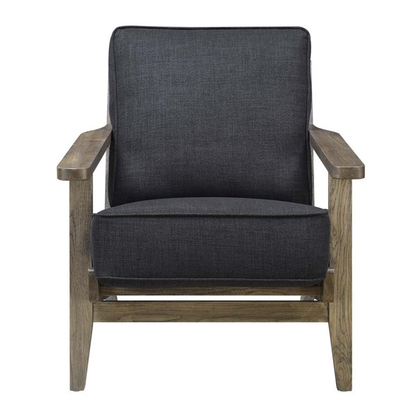 Picket House Mercer Onyx Fabric Accent Chair PKT-UMR545100AW