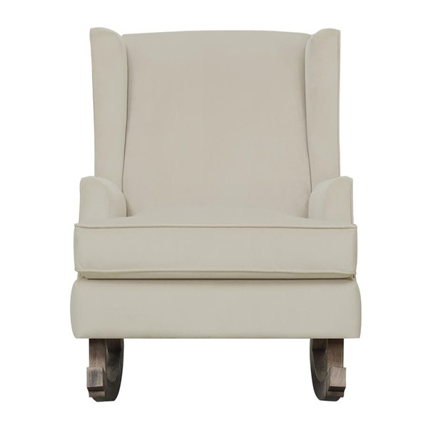 Picket House Lily Buckwheat Fabric Glider Chair PKT-USS051101G