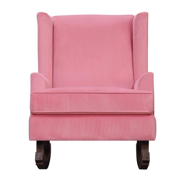 Picket House Lily Pink Fabric Glider Chair PKT-USS052101G