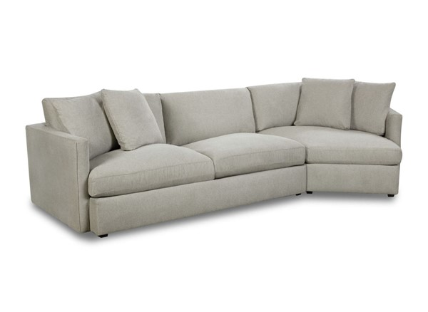 Picket House Maddox Slate Left Arm Facing 2pc Cuddler Sectional PKT-149-ARISL-LCUD2PC