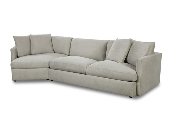 Picket House Maddox Slate Right Arm Facing 2pc Cuddler Sectional PKT-149-ARISL-RCUD2PC