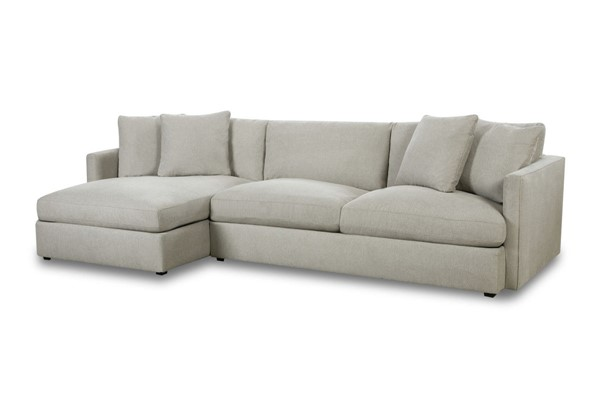 Picket House Maddox Slate Left Arm Facing 2pc Chaise Sectional PKT-149-ARISL-LF2PC
