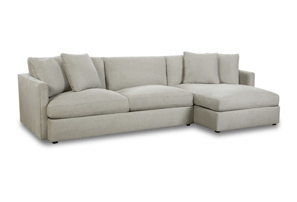 Picket House Maddox Slate Right Arm Facing 2pc Chaise Sectional PKT-149-ARISL-RF2PC