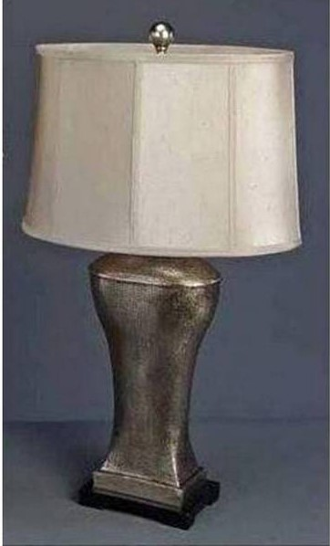 Brooklyn Lamps Metal Marble Old World Lamp PL-649
