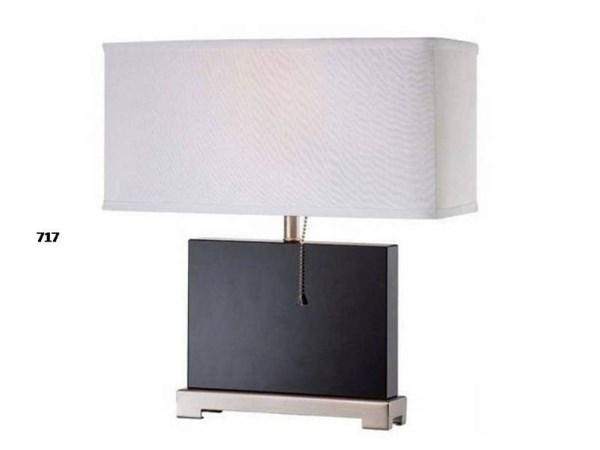 Brooklyn Lamps Crystal Satin Nickel Finish Lamp PL-717