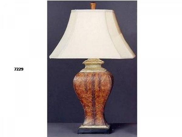 Brooklyn Resin Chesterfield Bell Table Lamp PL-7229