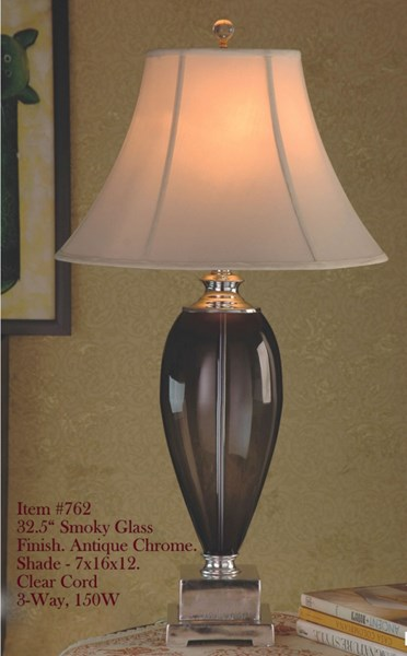 Brooklyn Lamps Brown Oval Shaped Table Lamp PL-762