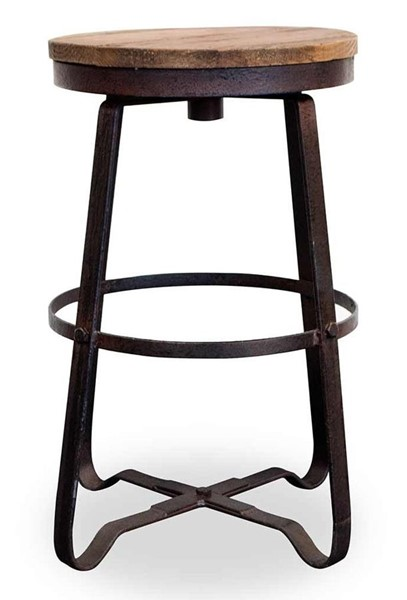 Primitive Collections Asher Modern Black Base Armless Counter Stool PMT-PC2014031401210