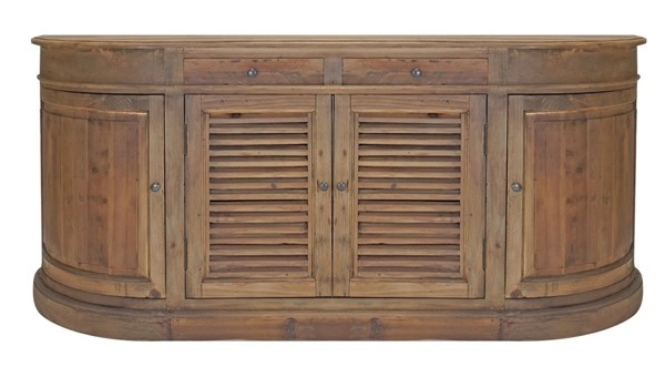 Primitive Collections Carolina Wood Shutter Buffet PMT-PC21080110