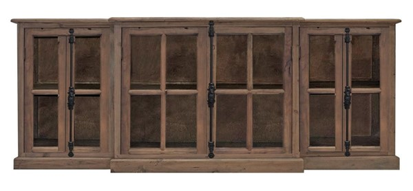 Primitive Collections French Wood Casement Media Console PMT-PC11183910