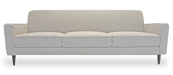 Primitive Collections Harmony Mayfair Taupe Velvet Sofa PMT-PCWM05880BTAUPE10