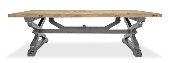 Primitive Collections Matteo Weathered Rectangle Coffee Table PMT-PC20120904310