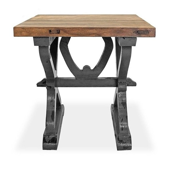 Primitive Collections Matteo Weathered Square End Table PMT-PCJJ30410