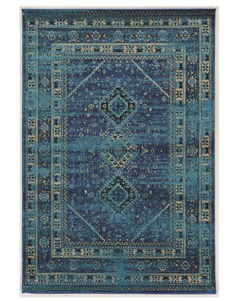 Primitive Collections Goravan Turquoise Small Rug PMT-PCRUGSE105810