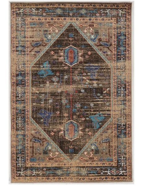 Primitive Collections Heriz Brown Small Rug PMT-PCRUGSE185810