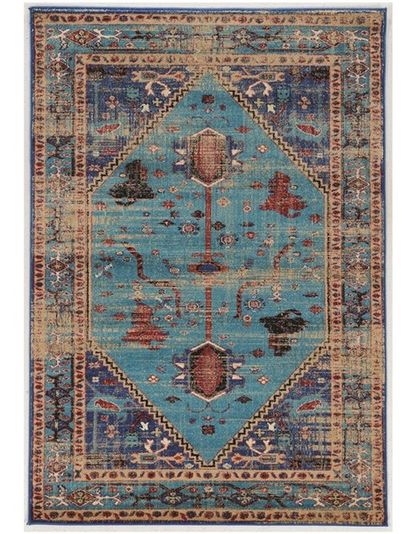 Primitive Collections Heriz Turquoise Small Rug PMT-PCRUGSE205810