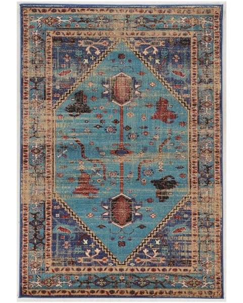 Primitive Collections Heriz Turquoise Large Rug PMT-PCRUGSE208110