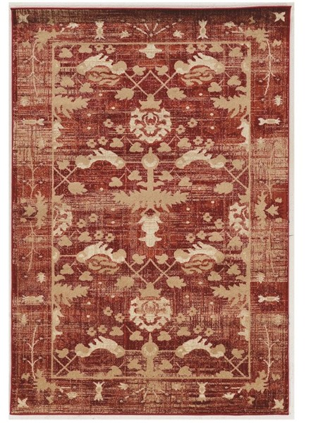 Primitive Collections Hamadan Red Small Rug PMT-PCRUGSE235810
