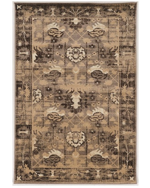 Primitive Collections Hamadan Brown Large Rug PMT-PCRUGSE268110