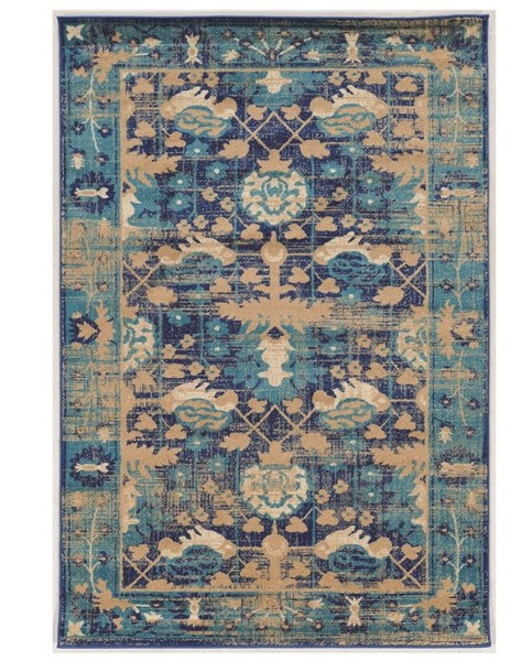Primitive Collections Hamadan Turquoise Small Rug PMT-PCRUGSE285810