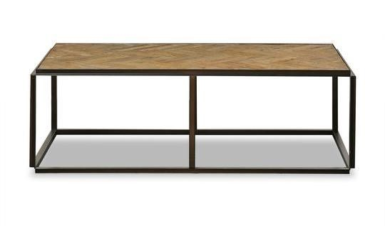 Primitive Collections Dallas Wood Rectangle Coffee Table PMT-PCYKFV0030310