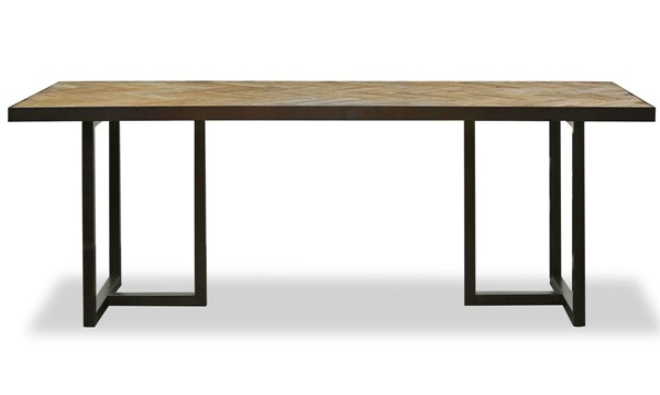 Primitive Collections Dallas Wood Rectangle Dining Table PMT-PCYKFV0030510