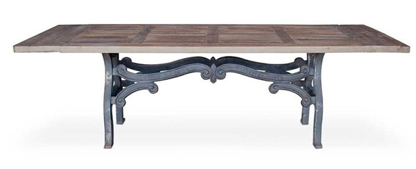 Primitive Collections Wellington Wood Rectangle Dining Table PMT-PCIMG605610