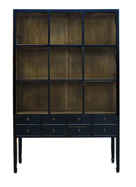 Primitive Collections Zoe Wood Cabinets PMT-PCSH262-BC-VAR