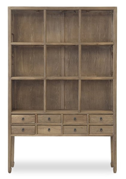 Primitive Collections Zoe Natural Wood Cabinet PMT-PCSH262N10