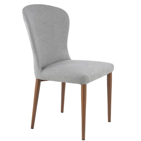 2 Poly and Bark Creston Grey Dining Chairs PNB-PB-319-DGRY-X2