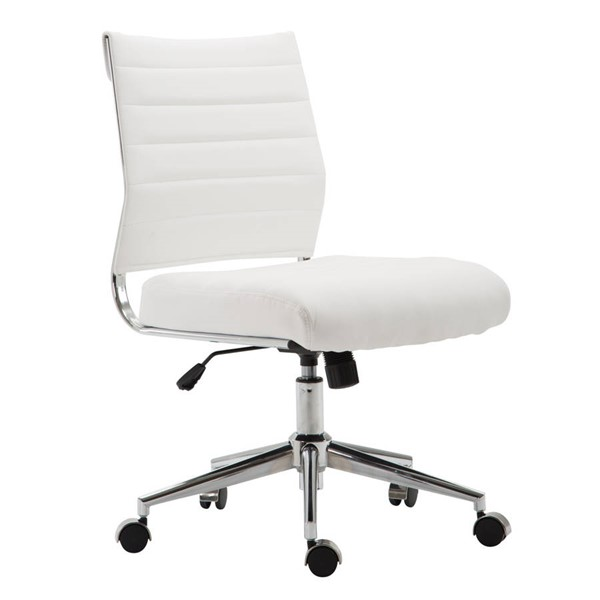 Poly and Bark Tremaine White Task Chair PNB-PB-371-WHI