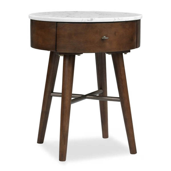Poly and Bark Andover Walnut Side Table PNB-PB-509-WAL