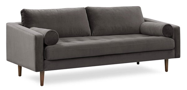 Poly and Bark Napa Concrete Velvet Sofas PNB-PB-LR-563-SF-VAR