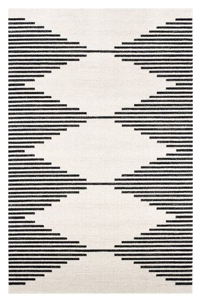 Poly and Bark Mekko Mist White Area Rug (96 X 120) PNB-PB-R-129-0810-CRM