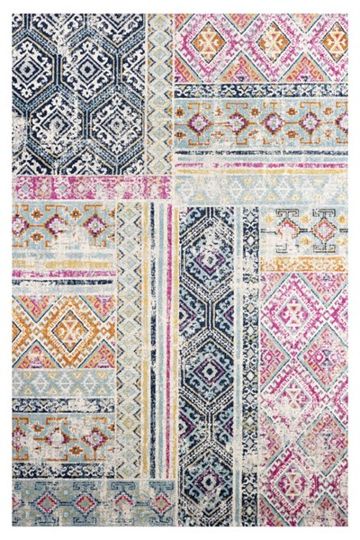 Poly and Bark Tangier Distressed Area Rug (96 X 120) PNB-PB-R-137-0810-MUL
