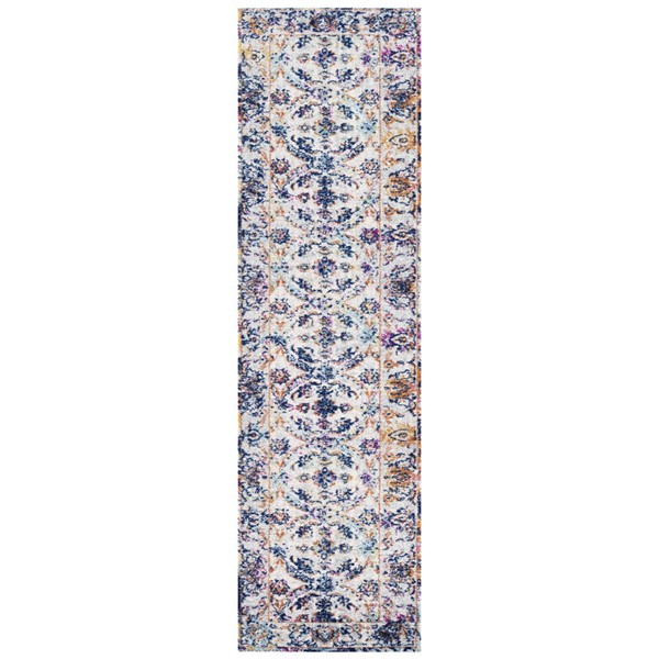 Poly and Bark Lorelai Distressed Area Rug (24 X 96) PNB-PB-R-141-0208-MUL
