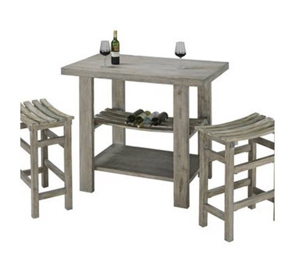 Cabernet Casual Grey MDF Rectangle Bar Table PRG-A196-52